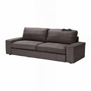 IKEA KIVIK Sofa Bed SLIPCOVER Cover TULLINGE GRAY BROWN Grey BEZUG Housse