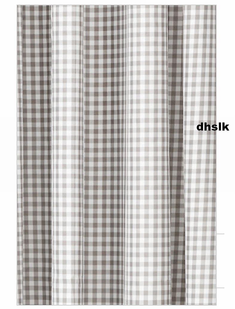 Grey Gingham Curtains Curtain Menzilperde Net