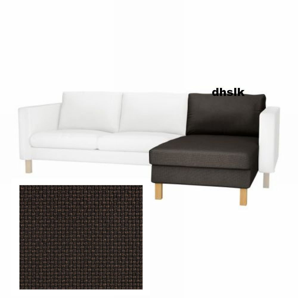 Ikea karlstad add on chaise longue slipcover cover korndal for Chaise longue ikea