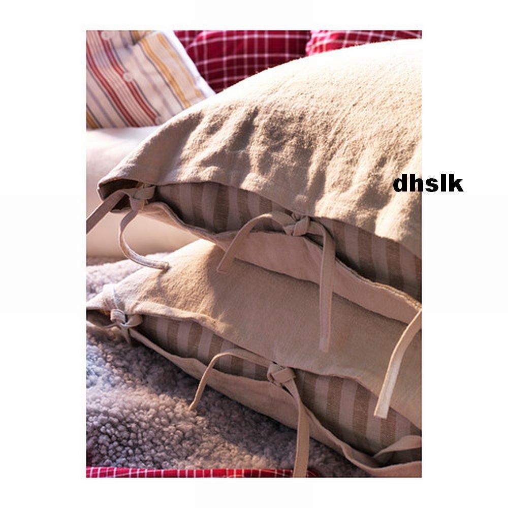 Ikea Ursula Cushion Cover Pillow Sham Ramie Beige 26 Quot X 26 Quot