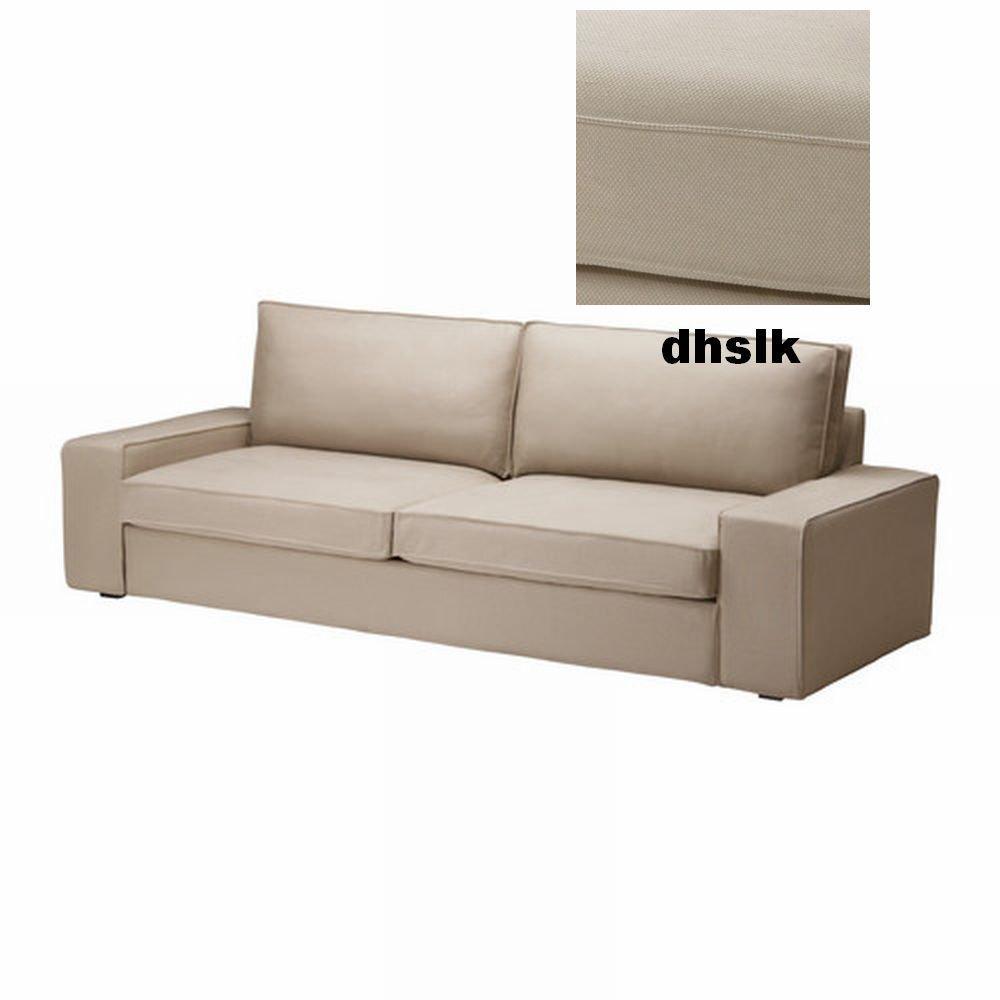 IKEA Kivik Sofa Bed SLIPCOVER Sofabed Cover DANSBO BEIGE