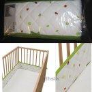 IKEA TORVA Crib BUMPER PAD Garden Theme FRUIT Veg LADYBUGS Leaf RETRO Nursery