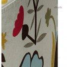 IKEA NILS  Footstool SLIPCOVER Cover BLOMSTERMALA Floral Blomstermåla MULTICOLOUR