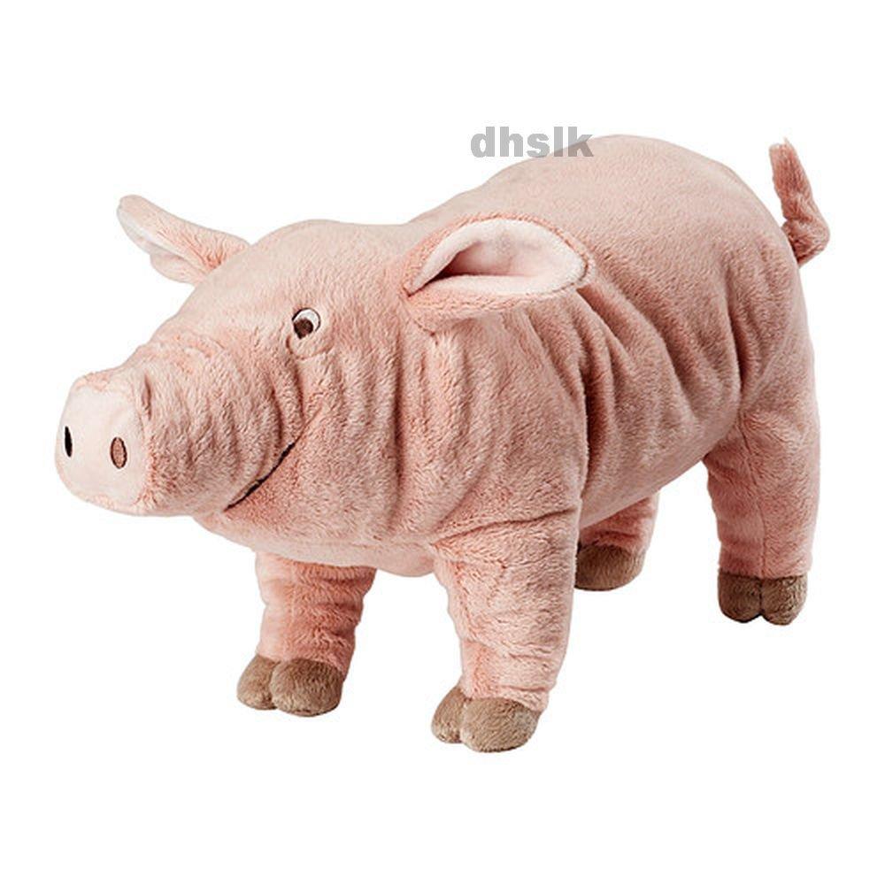 IKEA KNORRIG Pink PIG Piglet SOFT Plush Toy Charlotte's Web BABY SAFE Barnyard Animal NWT