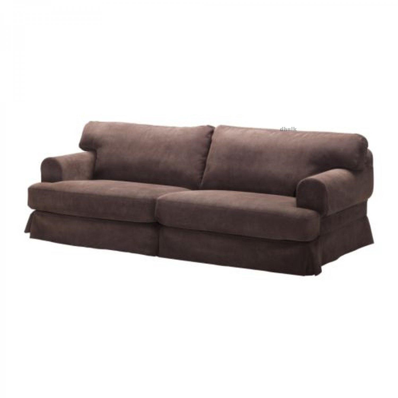 Ikea Hovas Sofa Slipcover Cover Graddo Brown Gr 228 Dd 246 Hov 197 S