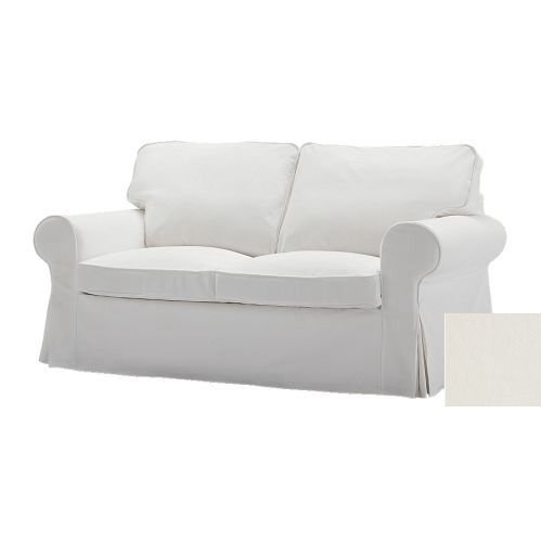 IKEA EKTORP Sofa Bed SLIPCOVER BLEKINGE WHITE Sofabed Cover LAST ONE!