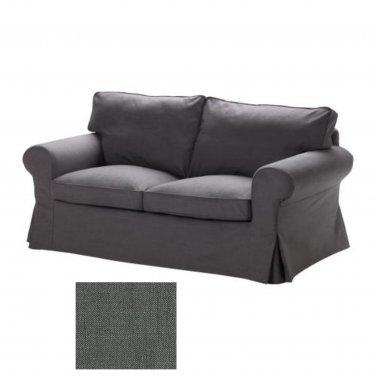 IKEA EKTORP 2 Seat Sofa SLIPCOVER Loveseat Cover SVANBY GRAY Grey