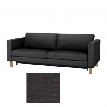 Ikea KARLSTAD Sofa Bed SLIPCOVER Sofabed Cover SIVIK DARK GRAY Grey