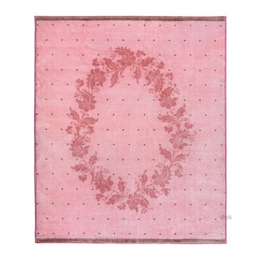 IKEA RARING Area Throw RUG Mat PINK Kids Princess Decor Girl