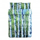 IKEA Unni Trad QUEEN Full DUVET COVER Set FOREST Trees Birch Photographic BOY SCOUT TRÄD