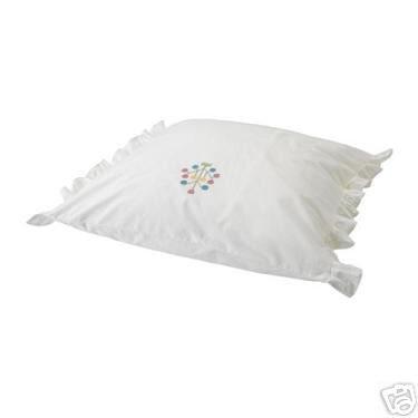 Ikea ALVINE SPIRA PILLOW SHAM Cushion Cover EMBROIDERED