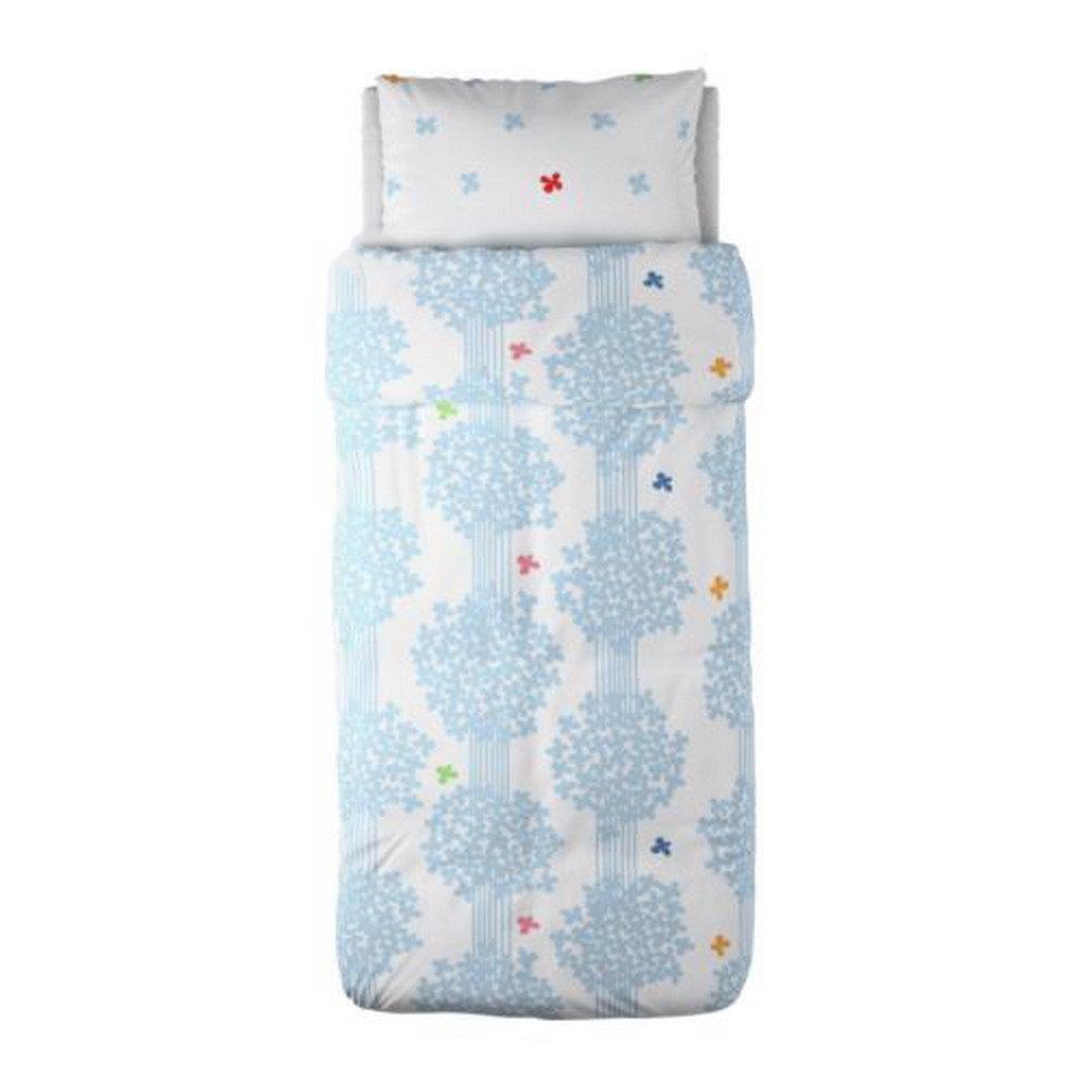Ikea Hedda L 214 V Lov Blue White Twin Duvet Cover Set Romantic