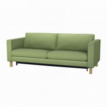 Ikea KARLSTAD Sofa Bed Sofabed SLIPCOVER Cover KORNDAL GREEN