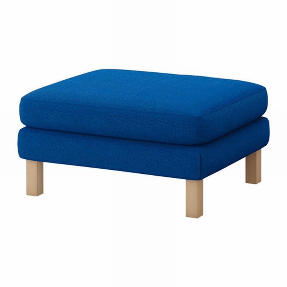 Ikea Karlstad Footstool Ottoman Slipcover Cover Korndal