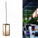 IKEA Applaro ÄPPLARÖ Accent LIGHT Lamp Indoor OUTDOOR Acacia Wood MODERN PATIO