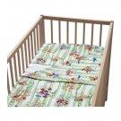 IKEA KORALL HAJ AQUATIC CRIB Duvet COVER Pillowcase SET Nursery Bedding