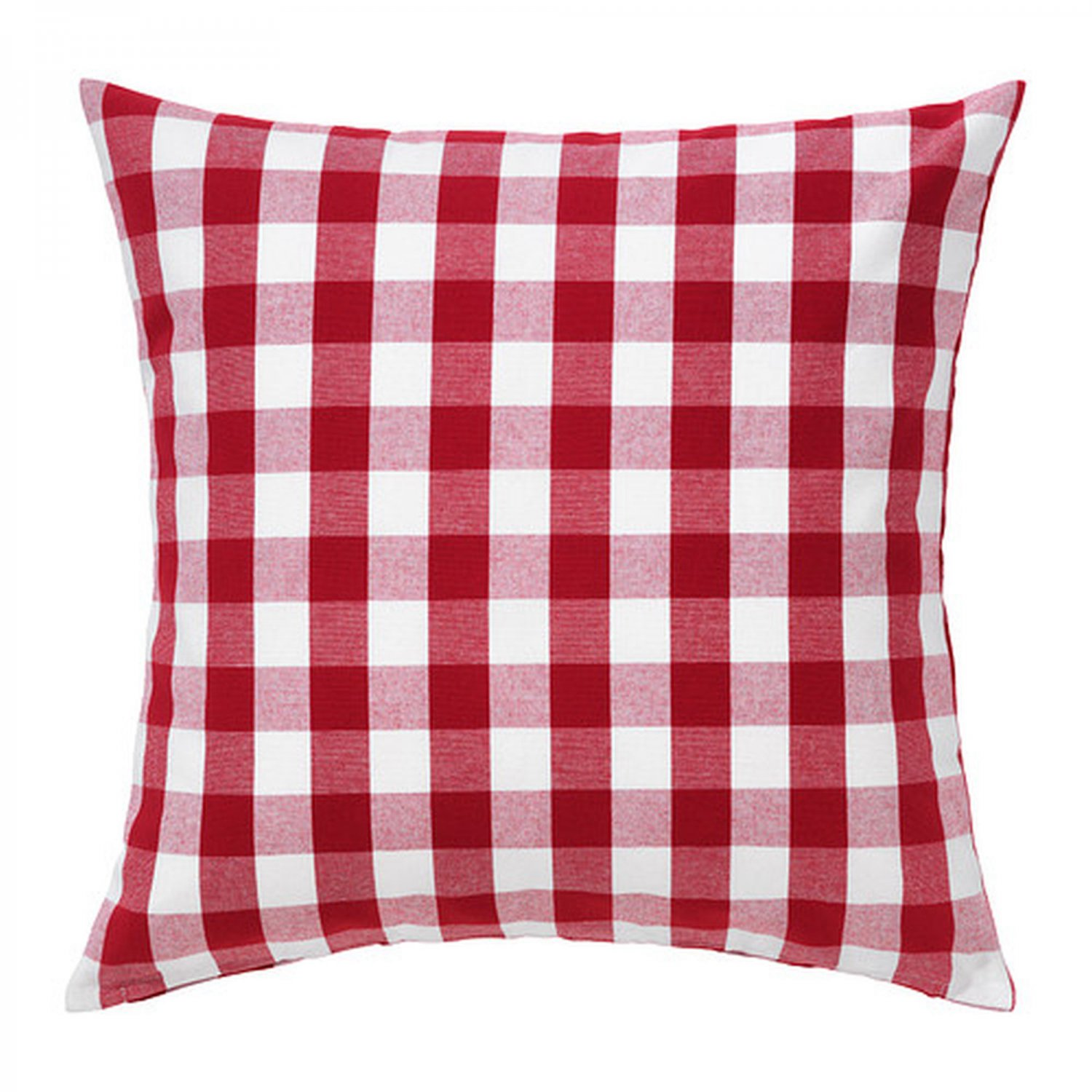 Ikea Smanate Cushion Cover Pillow Sham Red White Checkered