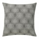 "IKEA NATTLJUS CUSHION COVER Pillow Sham BLACK WHITE Geometric 20"" x 20"""