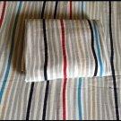 IKEA TOVE TWIN Duvet COVER Pillowcase Set Stripes Grey Red Blue Beige
