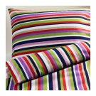 IKEA DVALA RANDIG QUEEN Full Double Duvet COVER Pillowcases Set Multicolor Bold Stripes