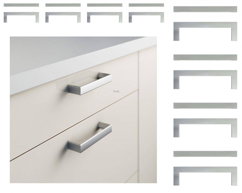 Ikea Metrik Set Of 16 Drawer Handles Cabinet Pulls Stainless Steel Color 4 3 16
