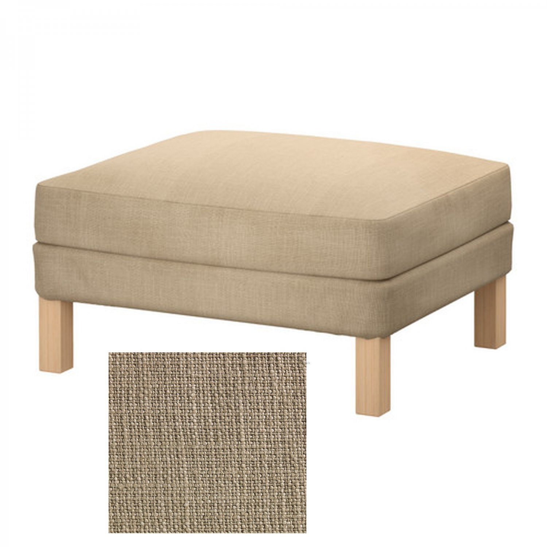 Ikea Karlstad Footstool Ottoman Slipcover Cover Lindo