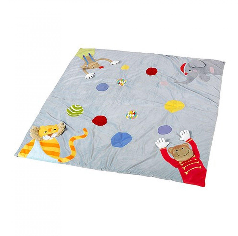 IKEA LEKA CIRKUS Play Mat Toy CIRCUS Mat Monkey Elephant