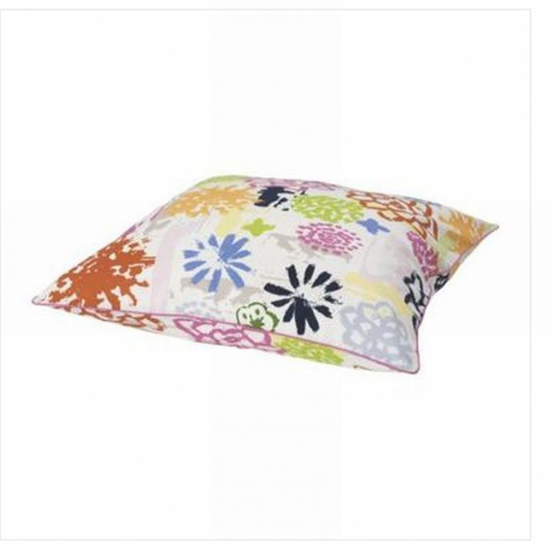 Ikea Renate Blom Cushion Cover Euro Pillow Sham 26 X 26 Floral Retro Flower Power