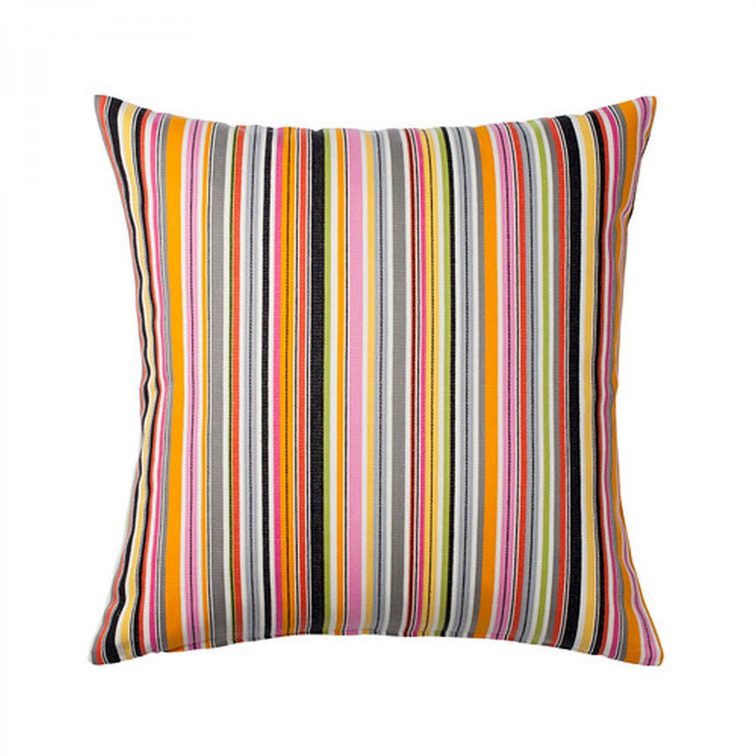ikea akervallmo cushion cover pillow sham multicolor stripe 20 x 20 kervallmo patio. Black Bedroom Furniture Sets. Home Design Ideas