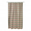 IKEA BOKVIK Fabric SHOWER CURTAIN Stripes Multicolor Cabana Horizontal