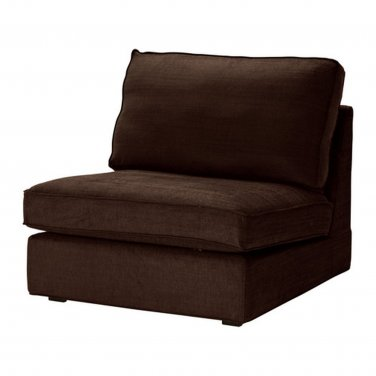 Ikea Kivik 1 Seat Sofa Slipcover Chair Cover Tullinge Dark Brown