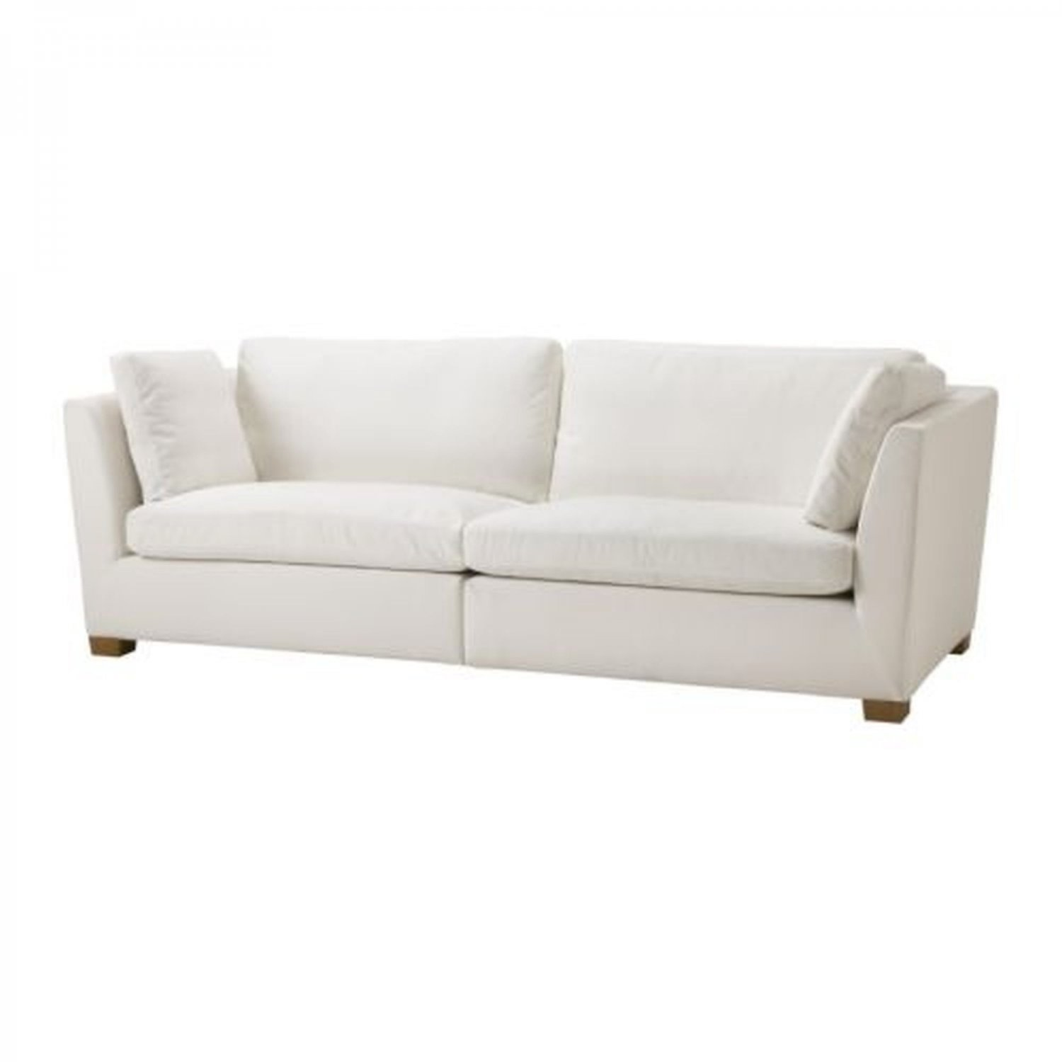 ikea stockholm 3 5 seat sofa slipcover cover rostanga white r st nga bezug housse. Black Bedroom Furniture Sets. Home Design Ideas