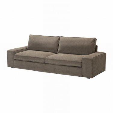 ikea kivik sofa bed slipcover sofabed cover tranas light brown tran s bezug housse. Black Bedroom Furniture Sets. Home Design Ideas