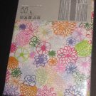 IKEA RENATE FLORA Flower CURTAINS Semi Sheer FLORAL Pink Green Blue