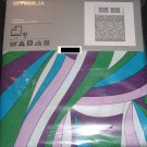 IKEA  MYRLILJA QUEEN Full Duvet COVER Set RETRO Swirl PURPLE Blue Green LAST ONE