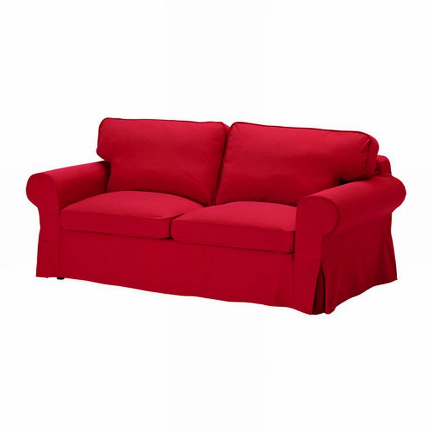 Ikea ektorp sofa bed slipcover cover idemo red sofabed cvr Ikea divan beds