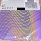 IKEA Vannerna Ljud TWIN Duvet COVER Set VÄNNERNA Purple Gray BIG BROTHER Sound Waves