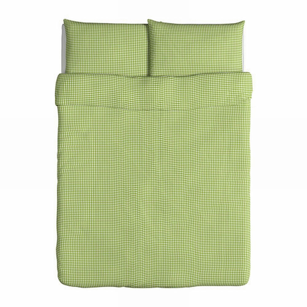 Ikea Barbro Ruta Full Queen Duvet Cover Pillowcases Set