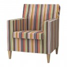 Ikea KARLSTAD Chair SLIPCOVER Armchair Cover DILLNE Multi Bright Stripes