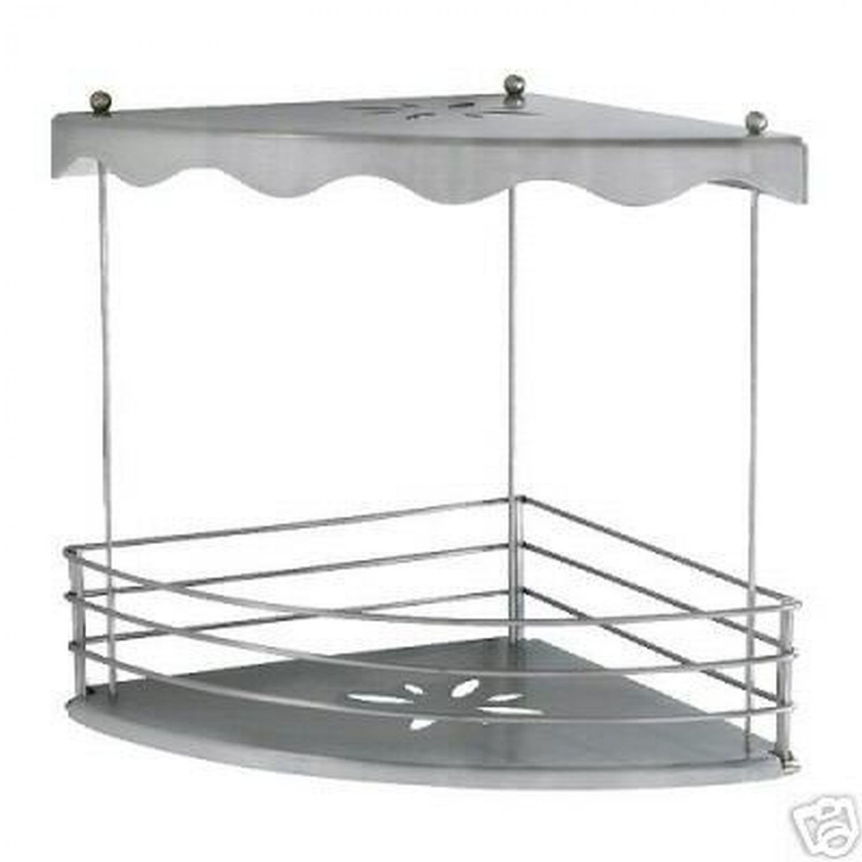 Ikea lillholmen corner bathroom shower shelf organizer - Ikea bagno accessori ...