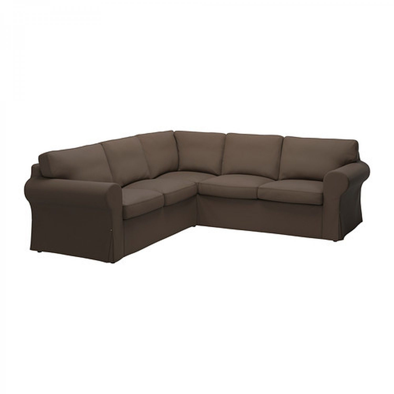 ikea ektorp 2 2 corner sofa cover slipcover jonsboda brown 4 seat sectional cover. Black Bedroom Furniture Sets. Home Design Ideas