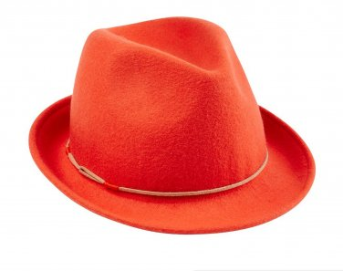 HAT ATTACK Wool Fedora Hat Red Clay Terracotta Color Special Edition Canada