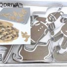 SNODRIVA Christmas Cookie Cutter Pastry IKEA 6 stainless steel Decoration SNÖDRIVA
