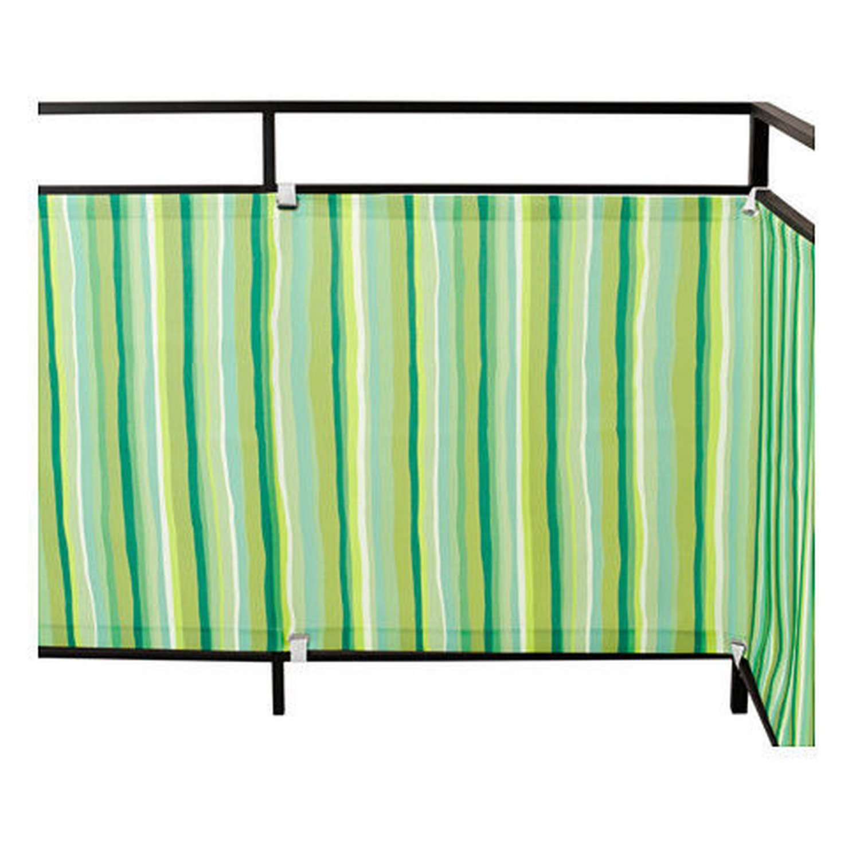Ikea Sonnenschutz ikea dyning patio balcony wind sun shield shade green and white striped