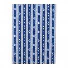 IKEA Entire BOLT of SOMMAR 2016 Fabric Material IKAT Blue White Stripe 27Yd Nautical Indigo LOT