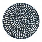 IKEA Flong  Area RUG Throw Mat BLUE Spots FLÖNG Modern Fun Round