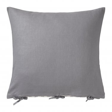 "IKEA Ursula CUSHION COVER Pillow Sham RAMIE GRAY Grey 26"" x 26"""