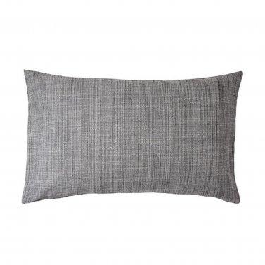 """IKEA Isunda CUSHION COVER Pillow Sham GRAY 16"""" x 26"""" Grey Linen Lumbar"""