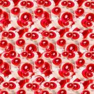 "IKEA Giltig Fabric Material RED Eyeball Print 118"" 3M  KATIE EARY London LIMITED EDITION Kanye"