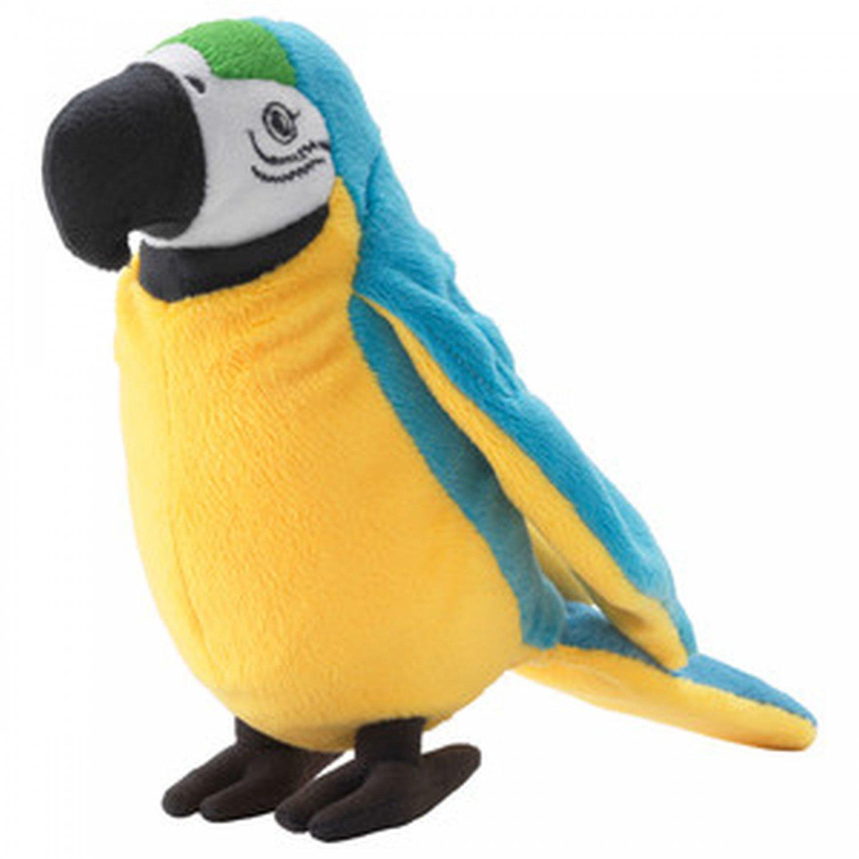 IKEA Onskad PARROT Macaw Soft Plush Toy �NSKAD Blue Bird Xmas